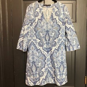 Zara paisley dress